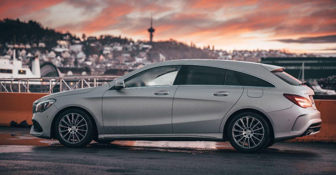 Mercedes-Benz CLA Shooting Brake i profil