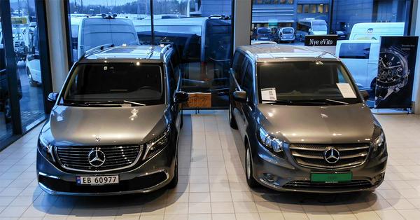 To Mercedes-Benz varebiler