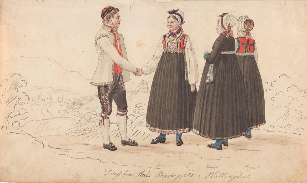 Johannes Flintoe, Hallingdal