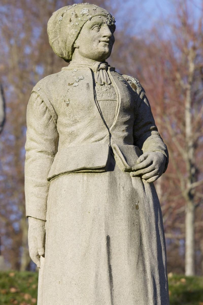 Kvinne Lærdal c