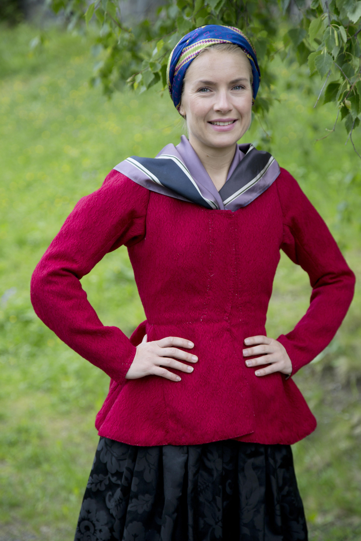 Camilla rød trøye 25