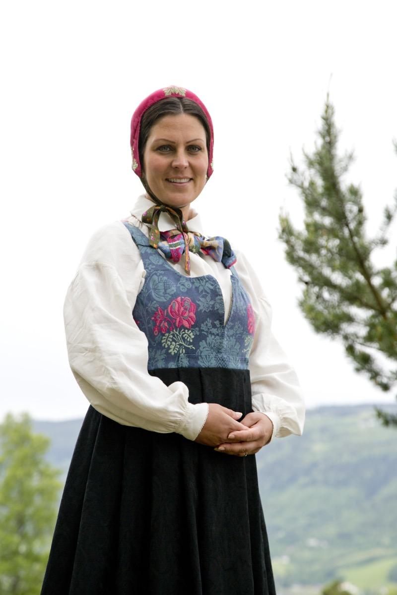 Anne damaskkjol 20