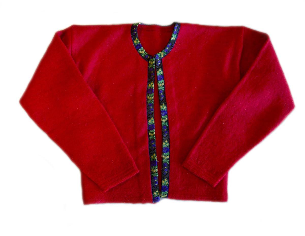 Rød trøye 2