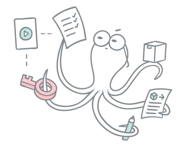 Order management with webhooks