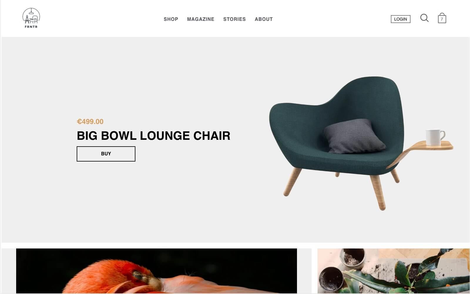 NextJS webshop.