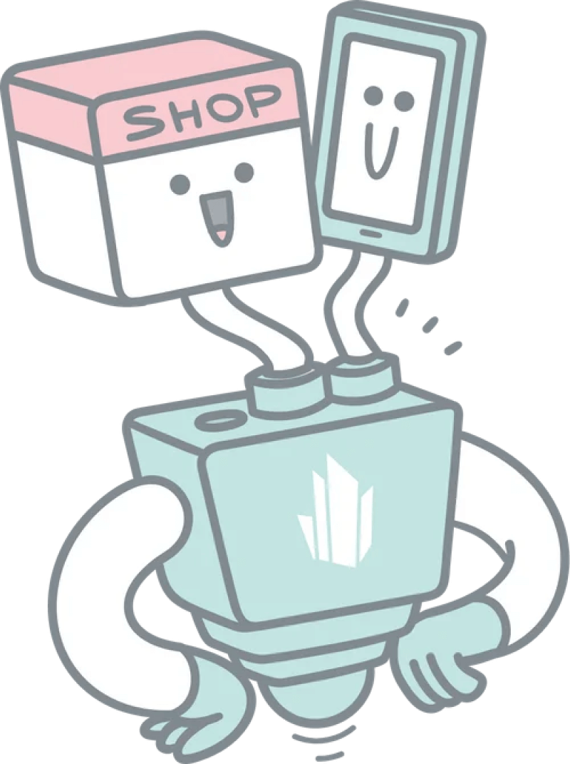 eCommerce for modern frontends illustration