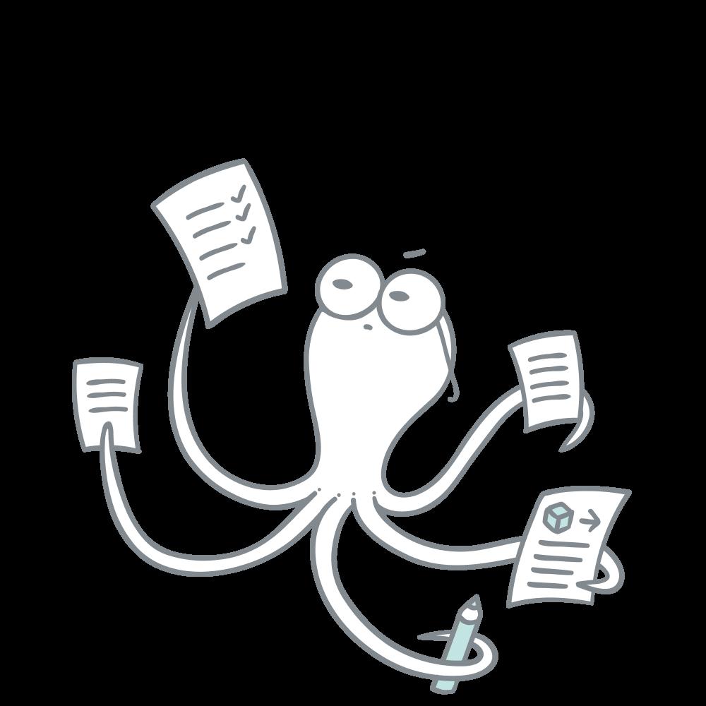 Developer documentation illustration