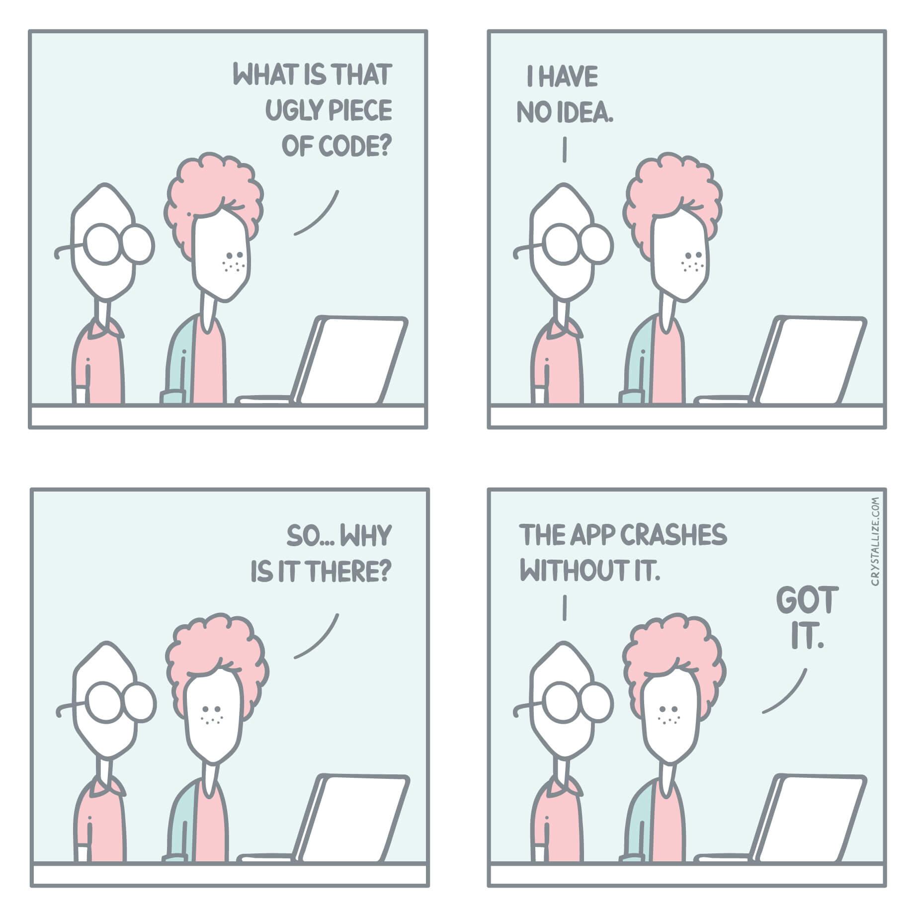Necessary evil comic