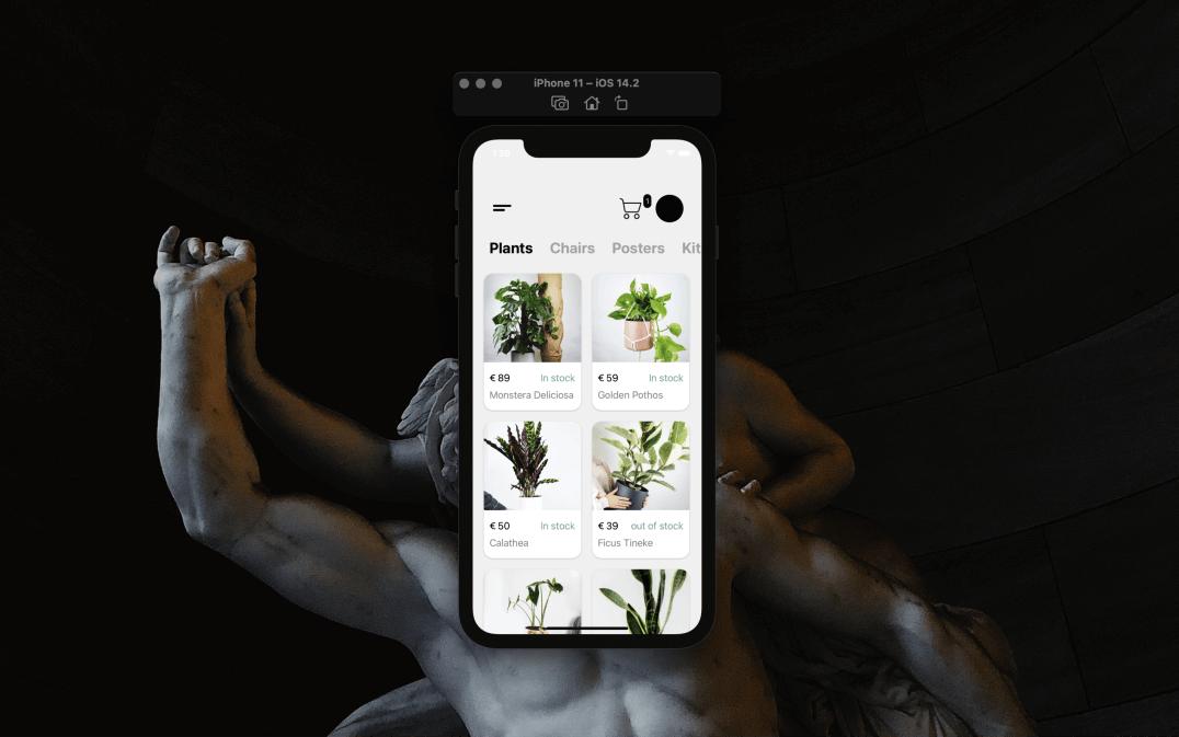 React Native App demo
