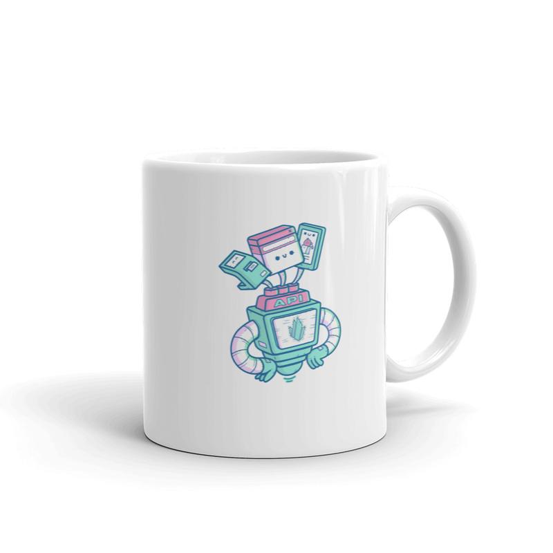 Headless mug