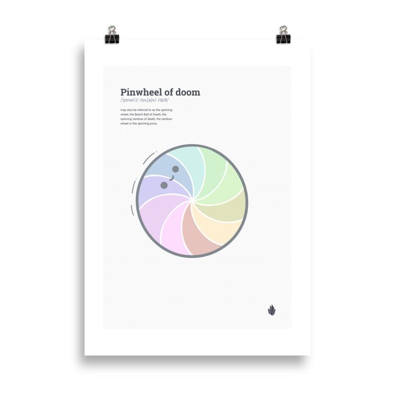 Pinwheel of Doom Poster