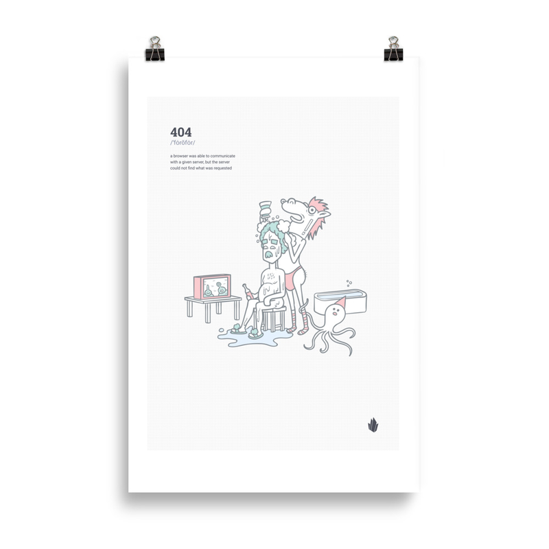 404 poster