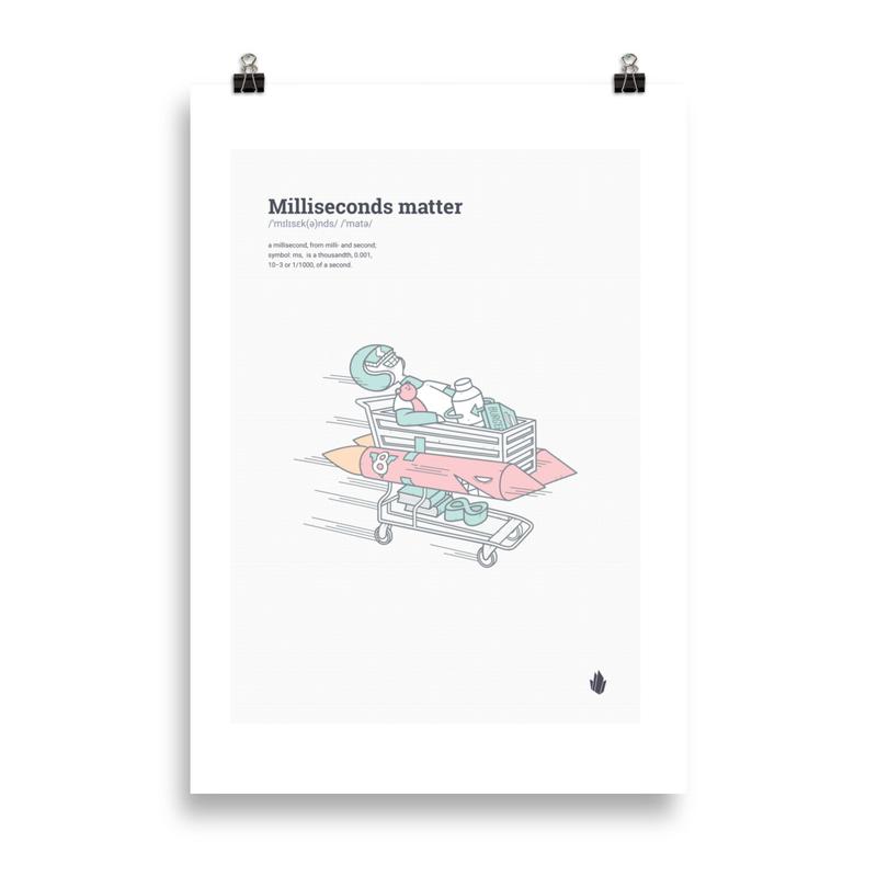Milliseconds matter poster