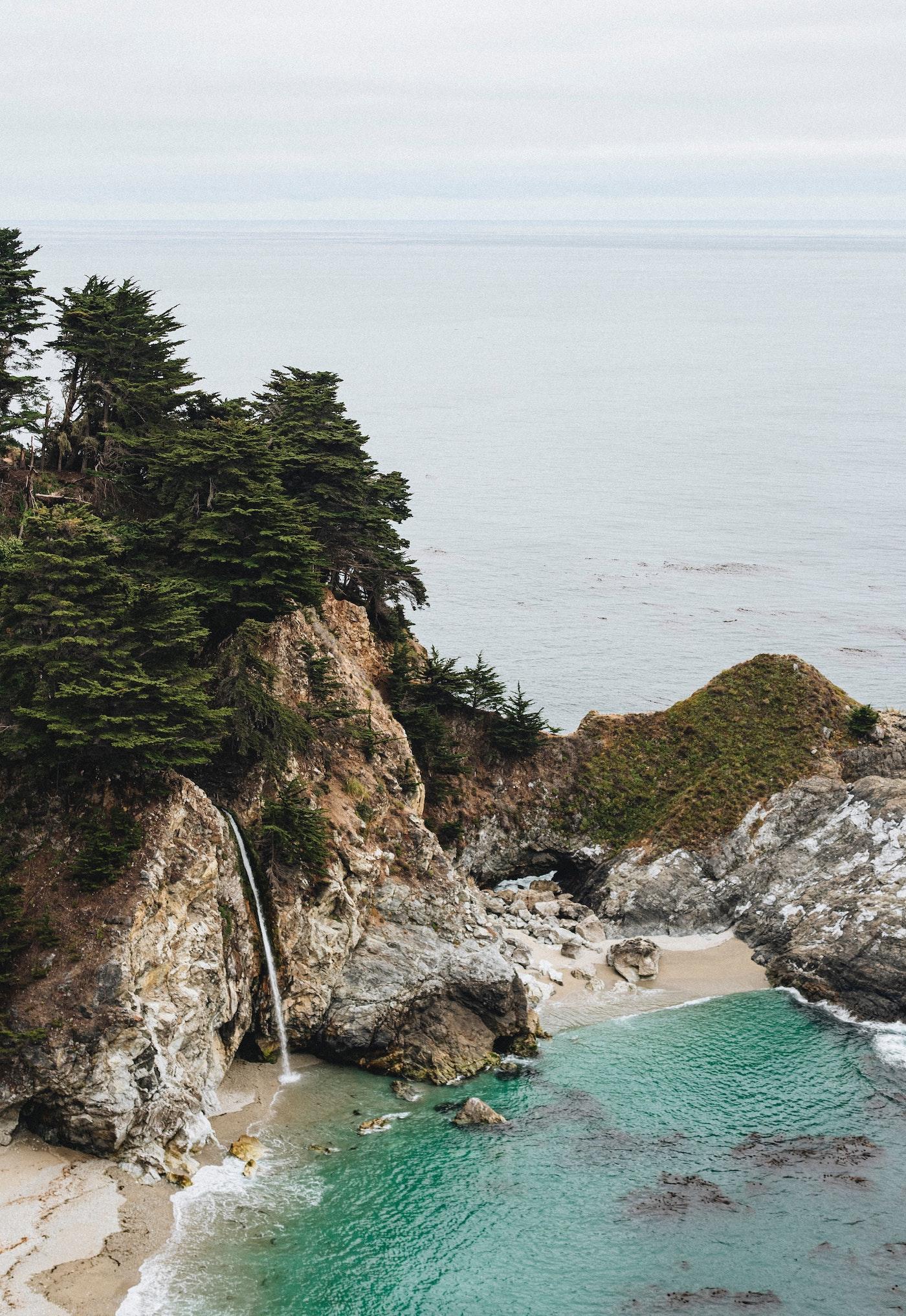 Calm Coastline
