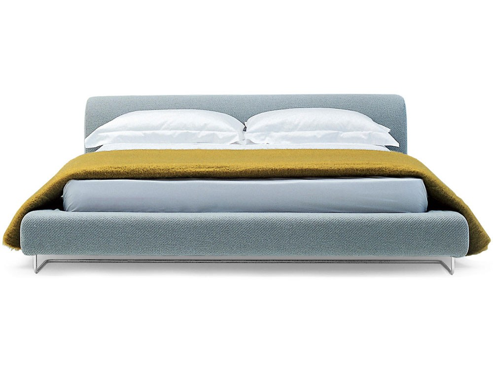Blue Lowland bed by Moroso