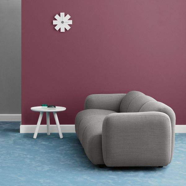 Taupe 3 seater sofa by Normann Copenhagen