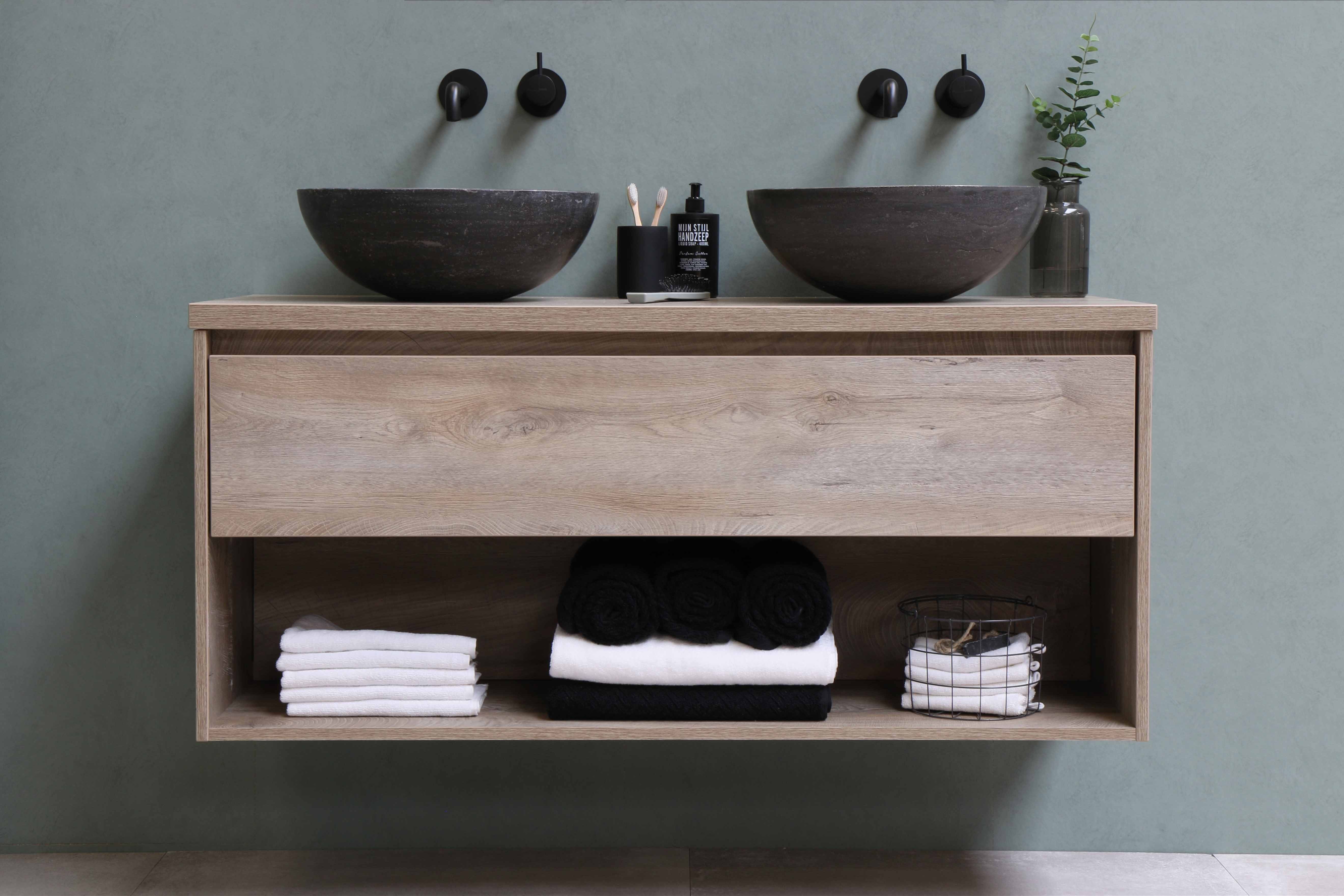 Bathroom Sink in Stone