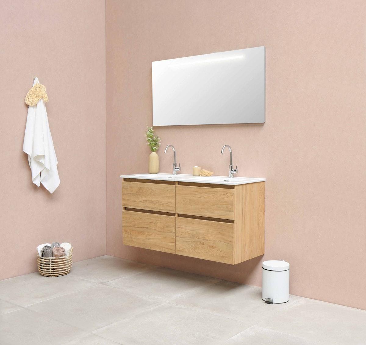 Mounted Bathroom Vanity Birch