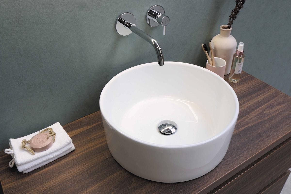 Round Sink White