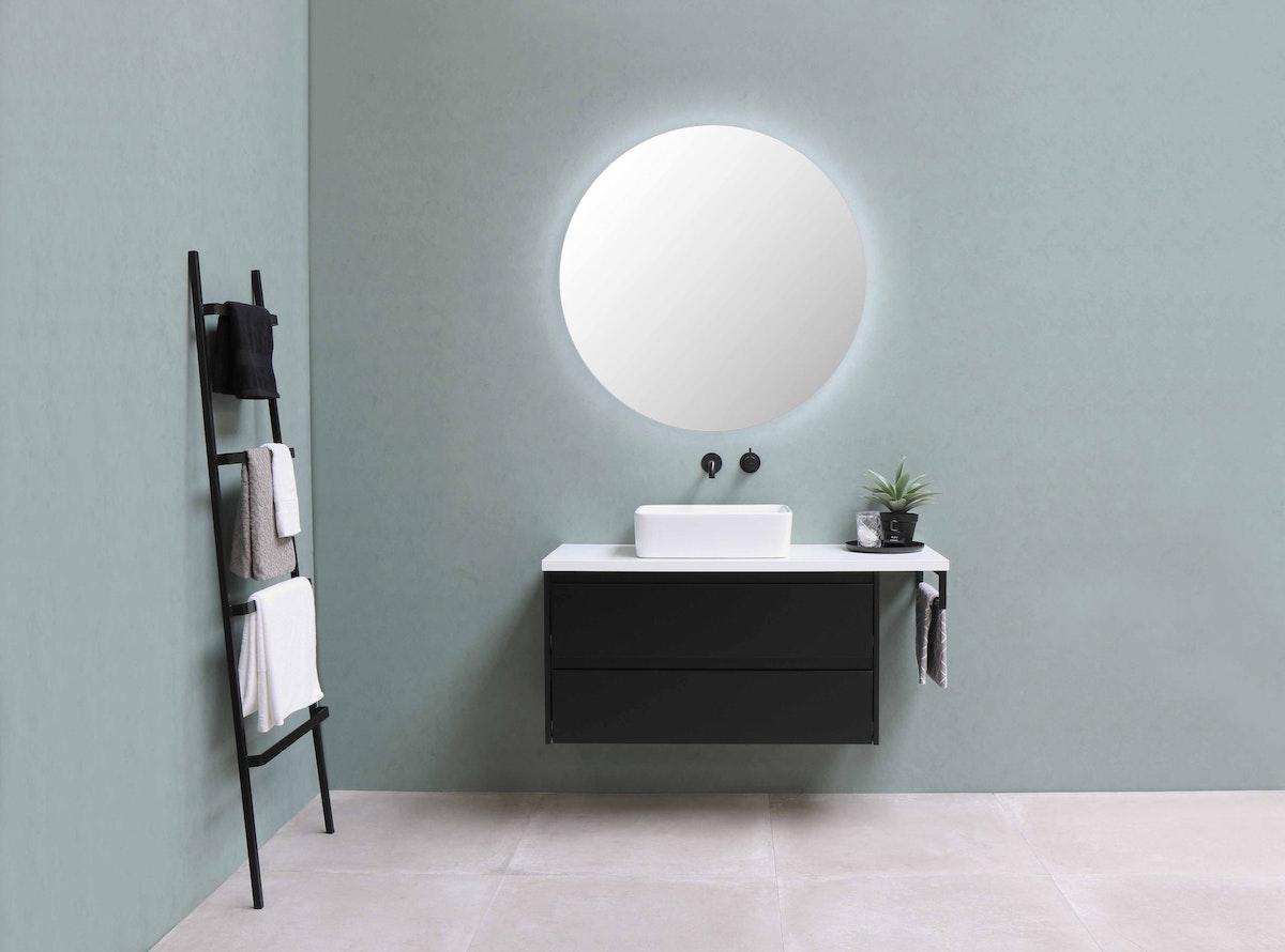 Mounted Bathroom Vanity Black