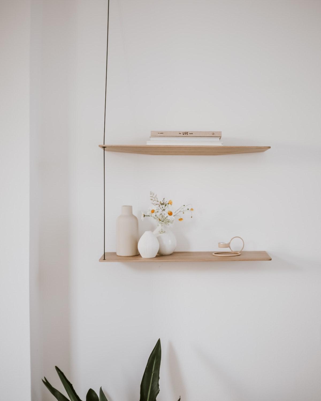 Shelves in Wood
