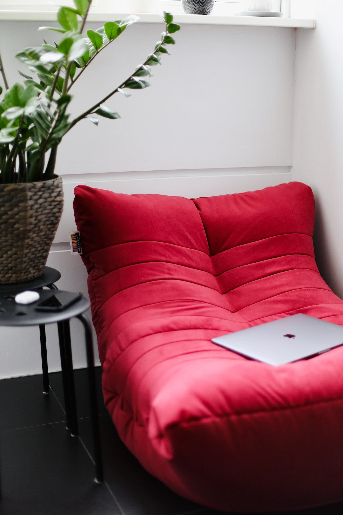 Red Lounge Chair