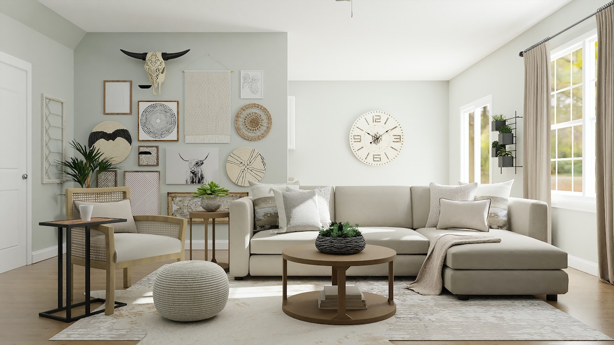 Cream Coloured Sofa