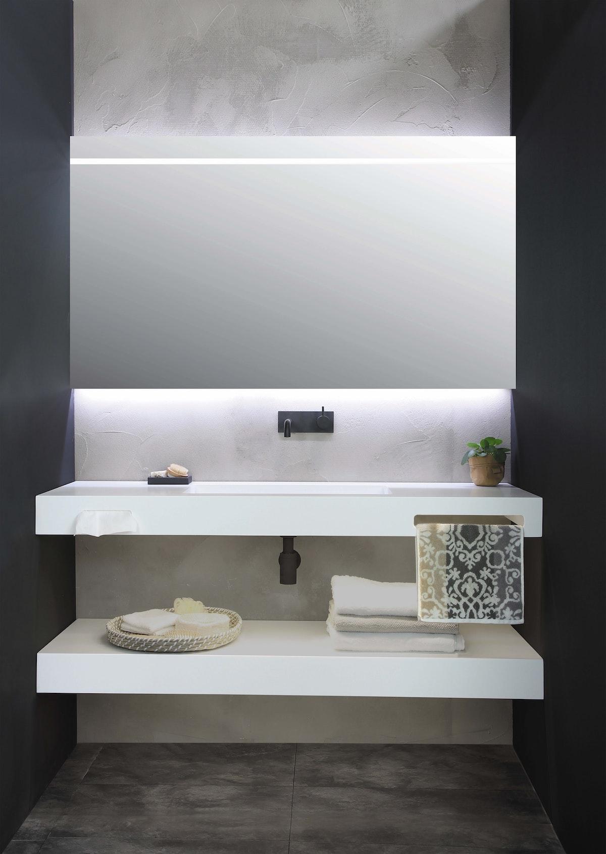 Mounted Bathroom Shelf