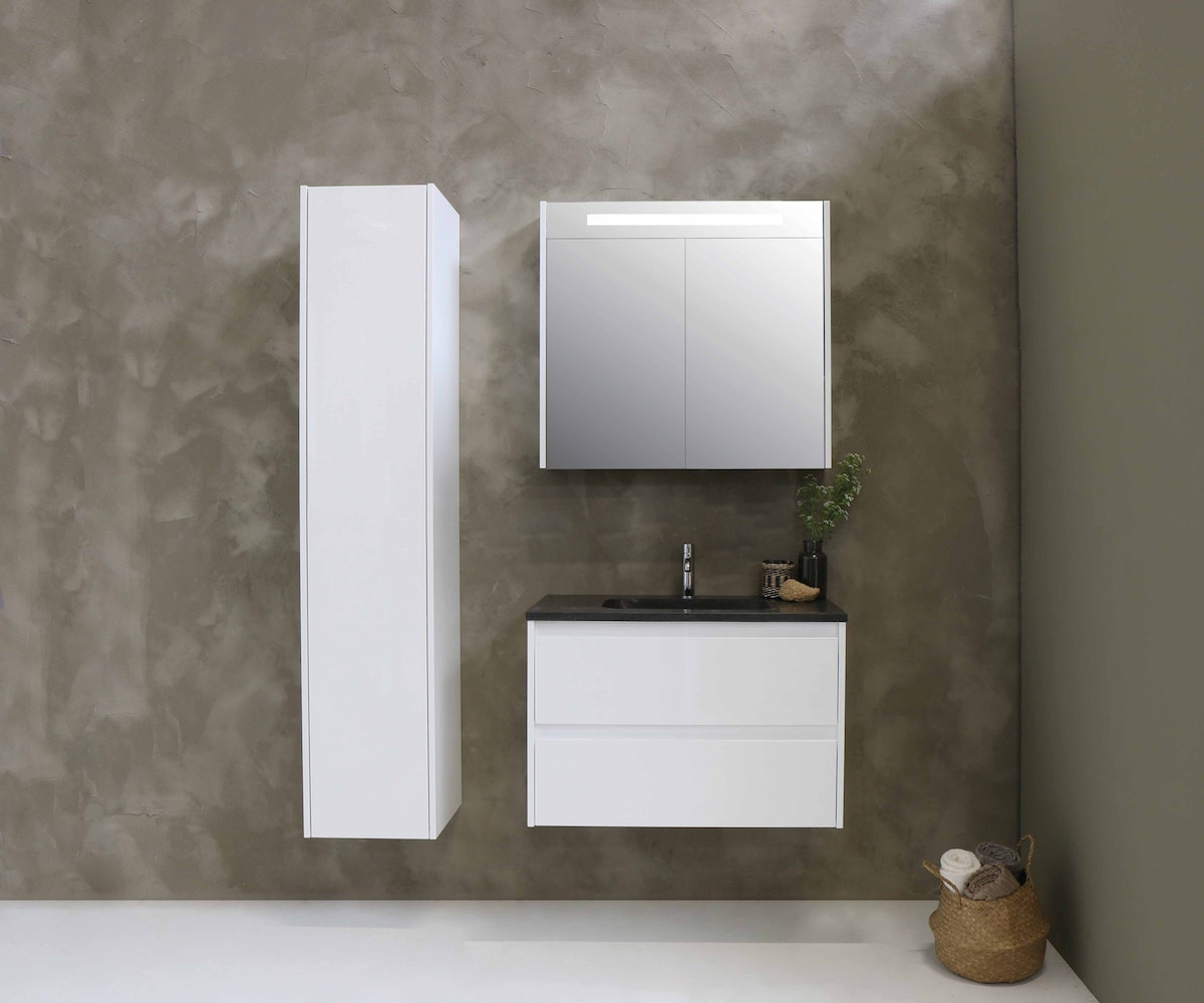 Mounted Bathroom Cabinet White