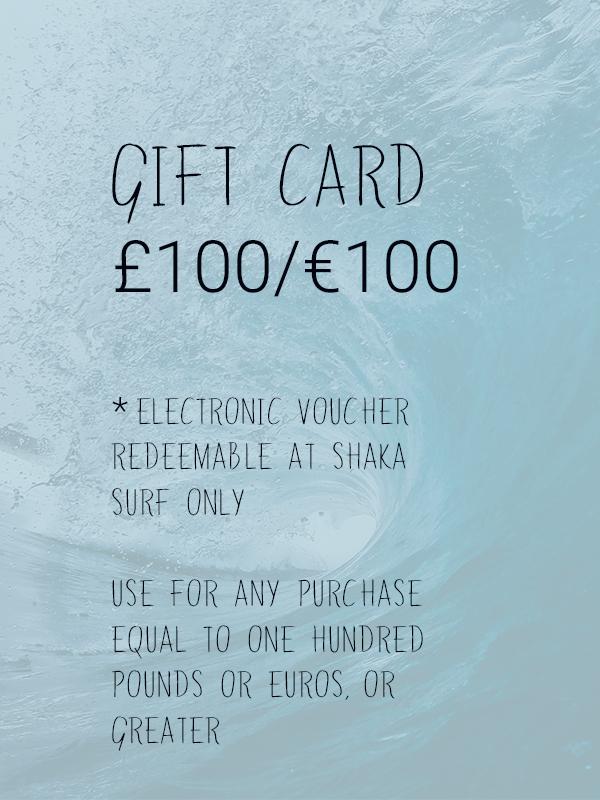 Shaka Surf Gift Card