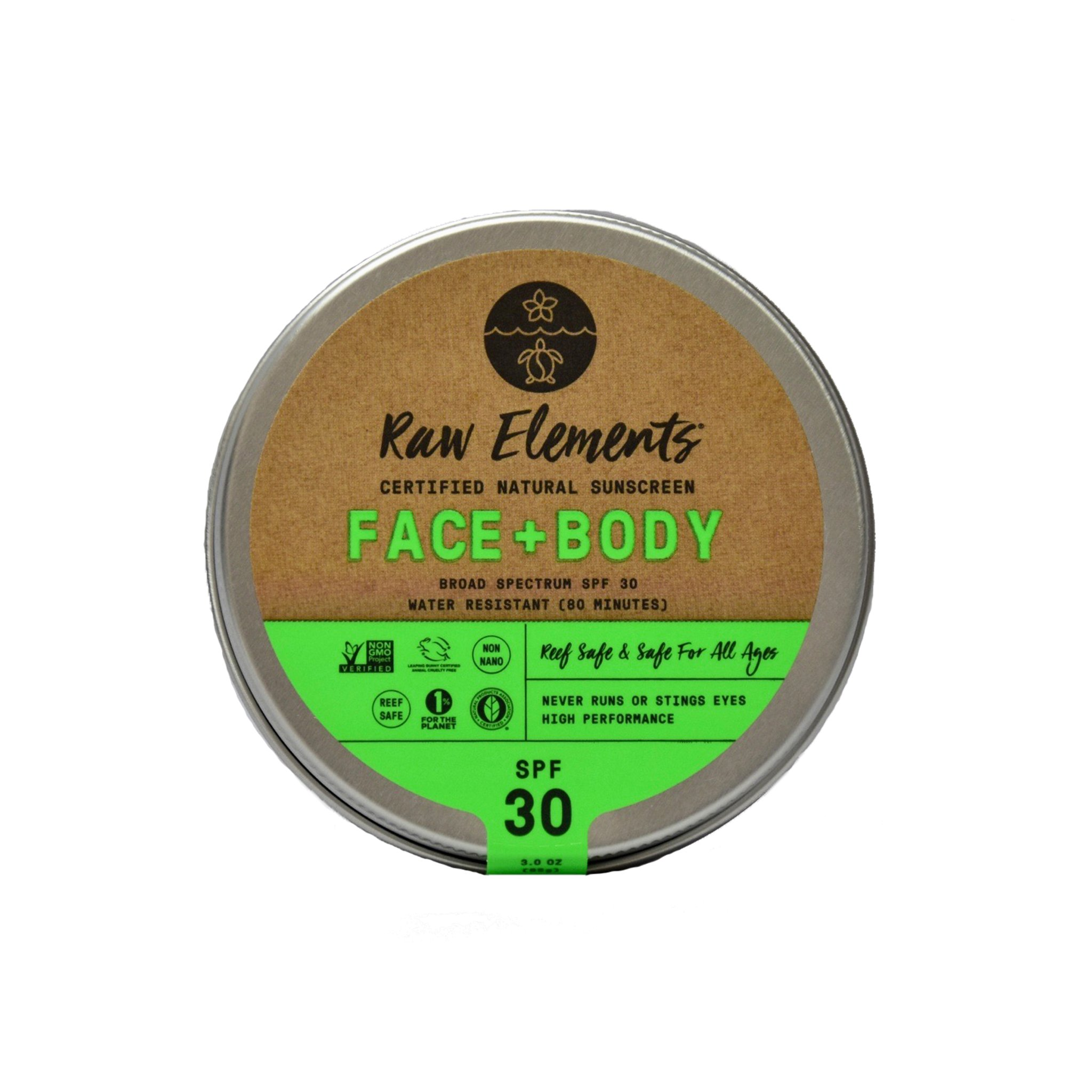 Raw Elements face and body product image
