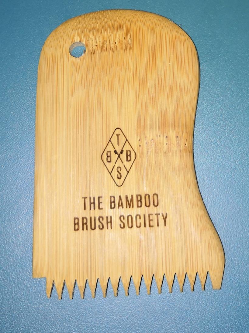 Peigne à Cire de Bambou