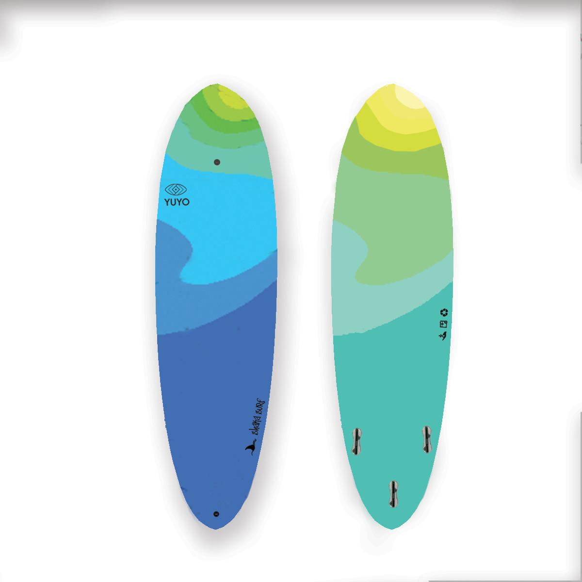 Interactive Surfboard Design Using Tech for Design
