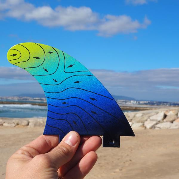 Whats in a sustainable surfing fin?