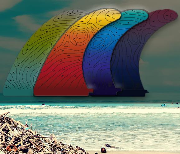 Recycling Plastics Surf Art