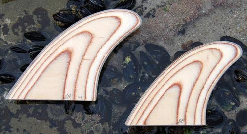 How To Make Wooden Surfboard Fins