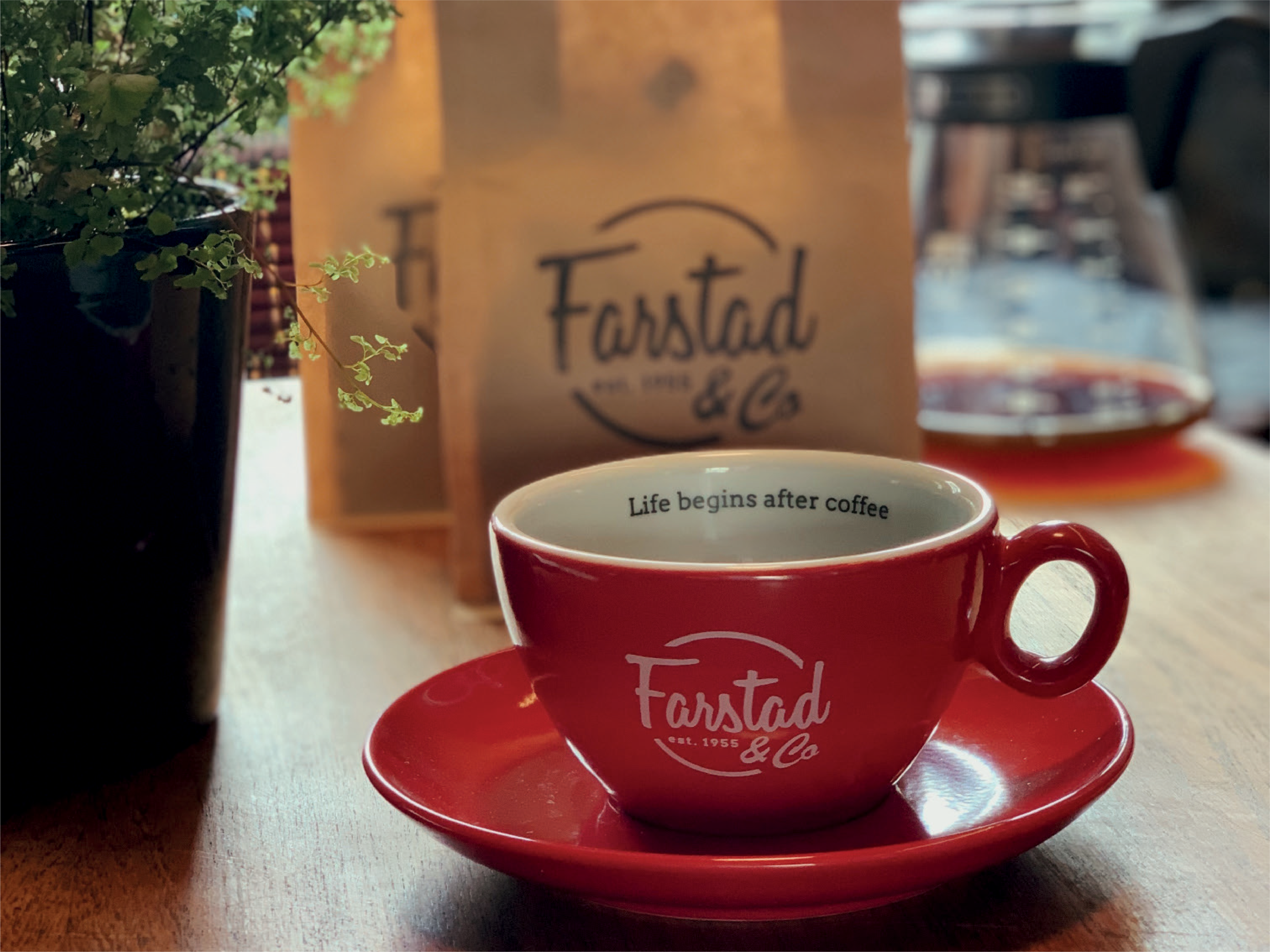 Farstad & Co Coffee and Mug
