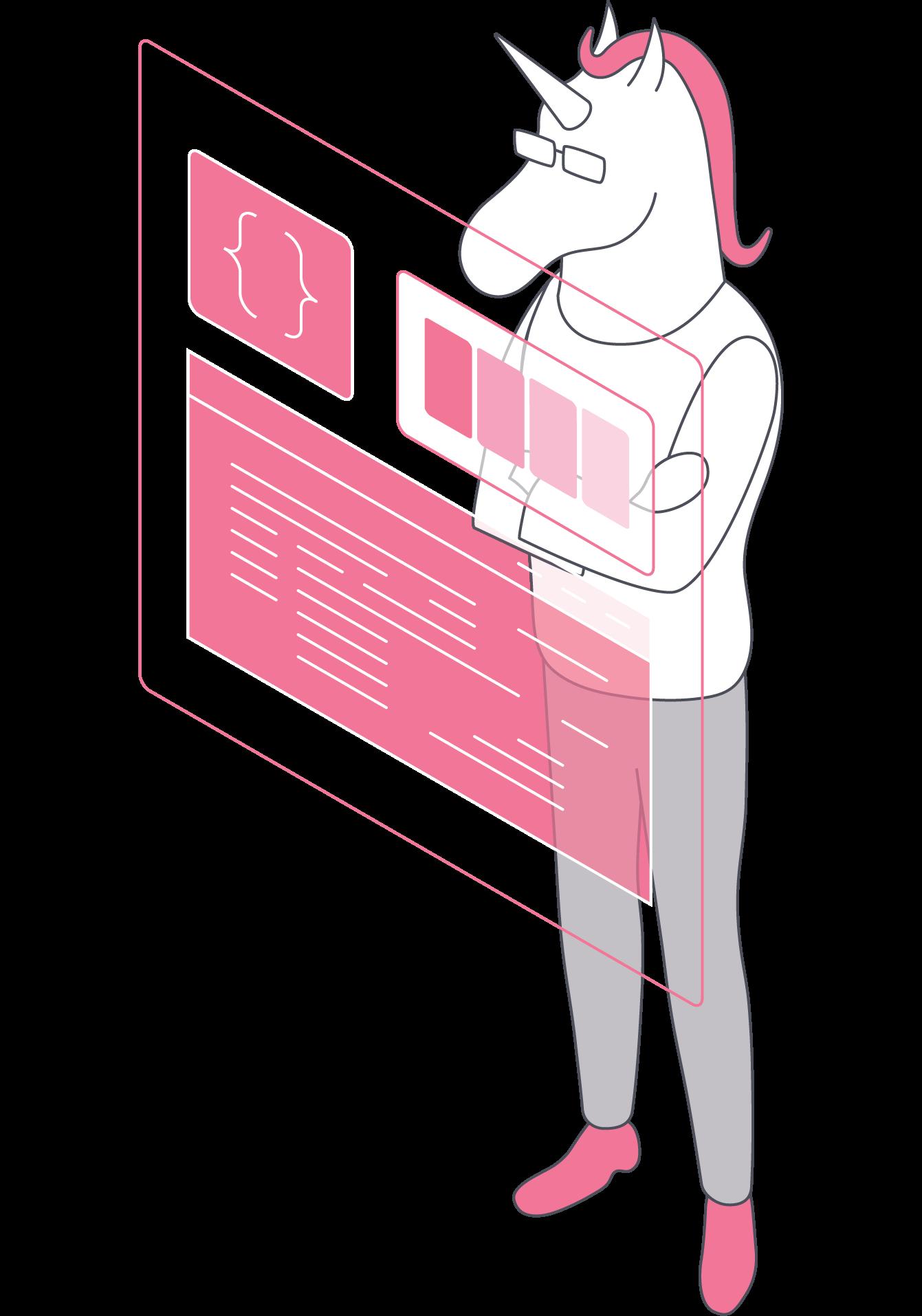 Unicorn (Designer + Developer)
