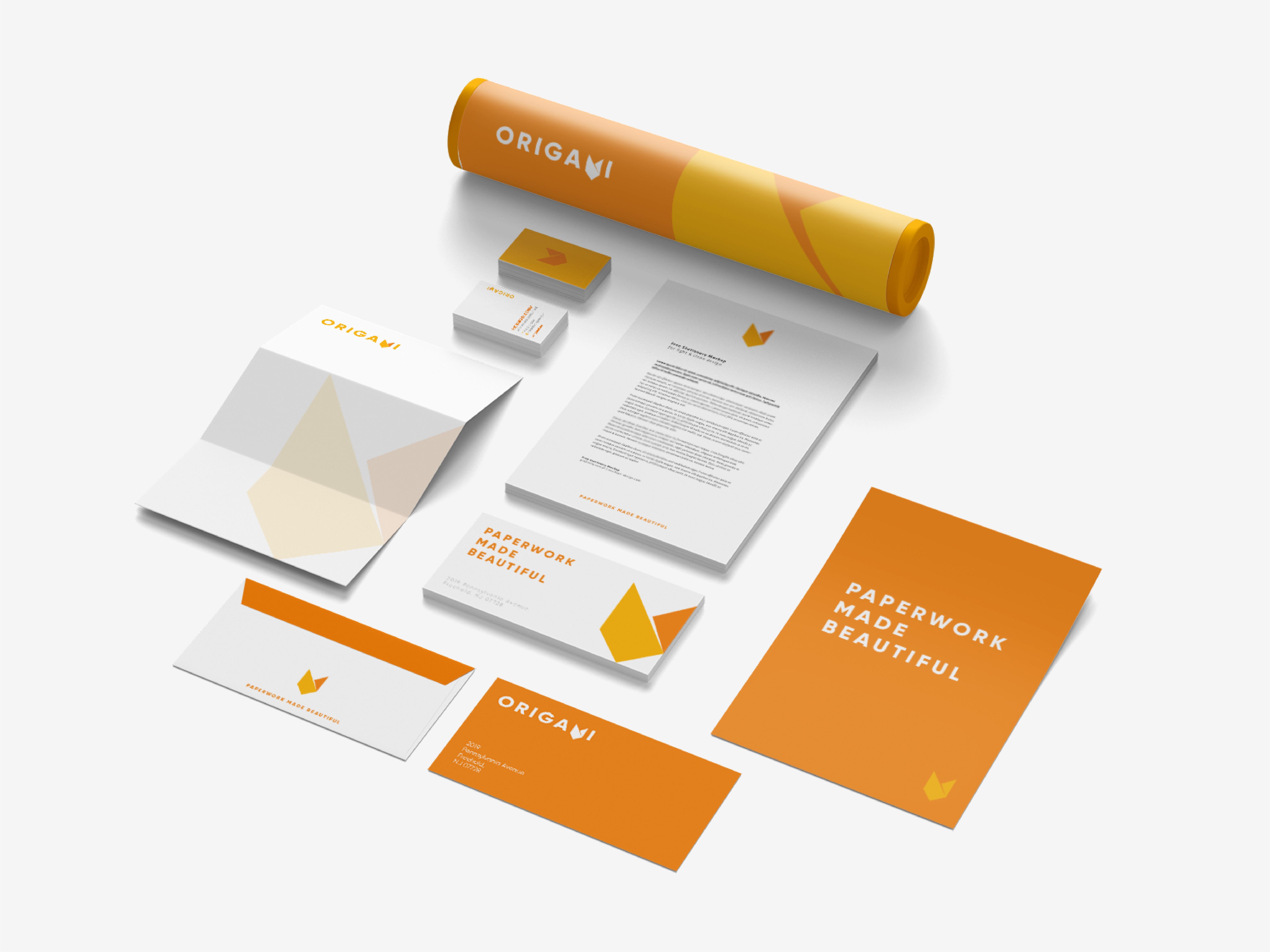 Brand Design for Origami